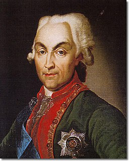 Russian Field Marshal and politician