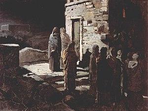 Nikolai Ge - Christ praying in Gethsemane, 1888