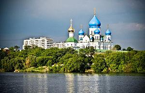 Nikolo-Perervinsky Monastery - The monastery view from the river.