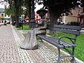 Nisko - postać Marii Resseguier w parku przy Placu Wolności (1).jpg