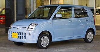Nissan Pino - Image: Nissan Pino 01