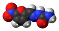 Nitrofural 3D spacefill.png