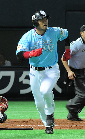 Nobuhiko Matsunaka - Matsunaka with the Fukuoka SoftBank Hawks
