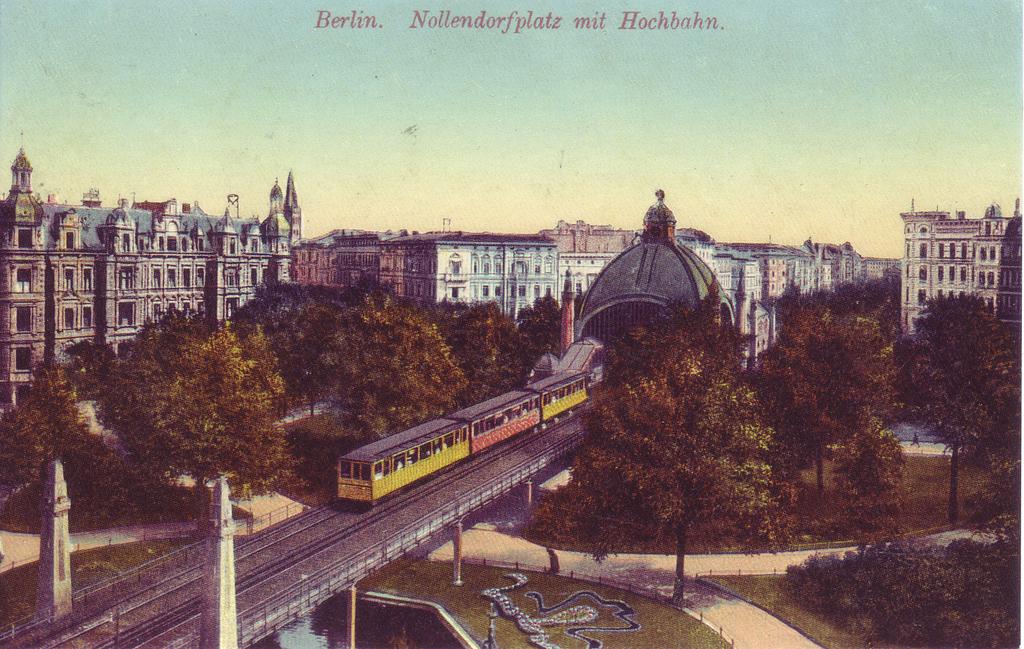 Nollendorfplatz à Schoneberg, Berlin vers 1900.