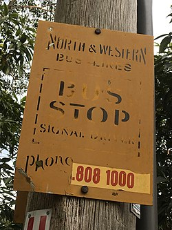 North & Western Bus Lines Bus Stop Sign 3.jpg