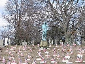 Allen George Newman - Spanish American War Section, North Burial Ground, Providence, Rhode Island