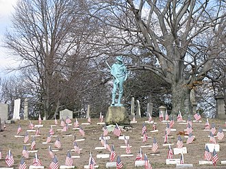 Allen George Newman - Spanish–American War Section, North Burial Ground, Providence, Rhode Island