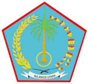 Puteri Indonesia 2008 - Image: North Sulawesi coa