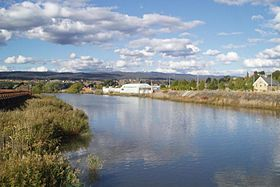 La North Esk River à Launceston