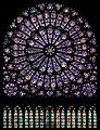 North rose window of Notre-Dame de Paris, Aug 2010FXD.jpg