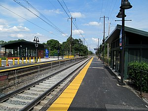 Edgewood, Maryland - Edgewood station, which is served by MARC Train commuter rail service to Baltimore and Washington DC