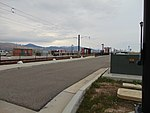 Northwest along Grandville Ave at Daybreak Parkway station, Apr 16.jpg