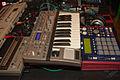 Novation X-Station 25, Akai MPC1000, Roland TR's, Dinosauriertreffen 2 - 110.jpg