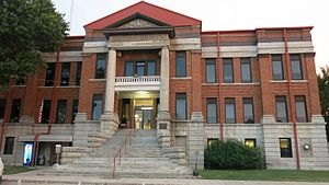 National Register of Historic Places listings in Nowata County, Oklahoma - Image: Nowata County Courthouse