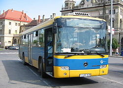 Number 38A bus in Pécs.jpg