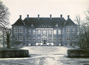 Nysø Manor - Nysø in 1938