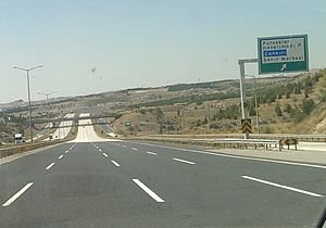 Otoyol 20 - Image: O 20 Pursaklar Exit