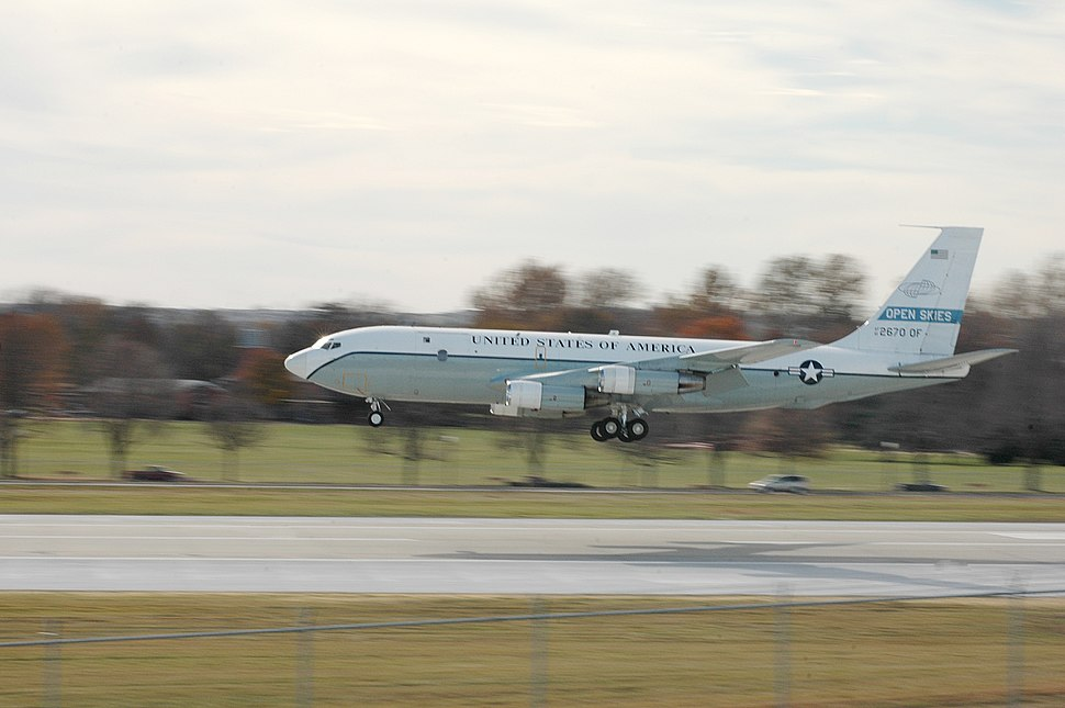 OC-135 landing
