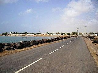 Obock Town in Obock Region, Djibouti