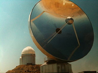 Swedish-ESO Submillimetre Telescope - Image: Observatoire de la Silla Swedish ESO Submillimetre Telescope