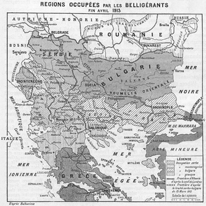 Albanian Vilayet - Territory captured in the First Balkan War.