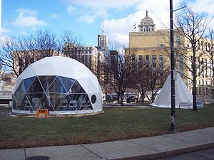 Occupy Buffalo - Image: Occupy buffalo igloo