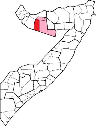 Oodweyne District - Image: Odweyne District