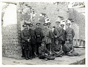 39th Garhwal Rifles - Officers of the 39th Garhwalis (Photo 24-241)