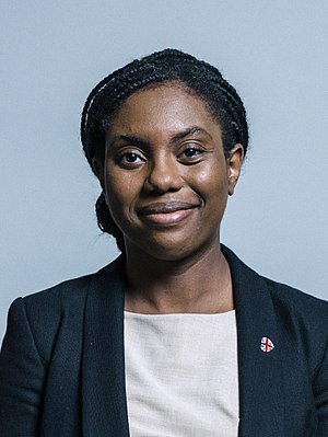 Kemi Badenoch - Image: Official portrait of Mrs Kemi Badenoch crop 2