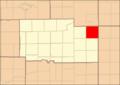 Ogle County Illinois Map Highlighting Monroe Township.png