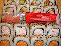 Okami fully cooked California rolls.JPG