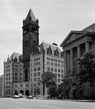 Walker Hancock - Image: Old&New Post Offices(cropped) HABS029904pv