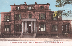 Beverwyck Manor - Image: Old Forbes Manor House