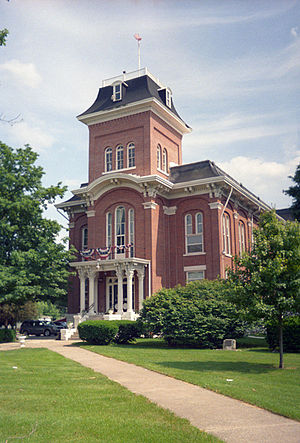Watseka, Illinois - Old Iroquois County Courthouse in Watseka