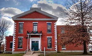 Das historische Courthouse des Phelps Countys in Rolla