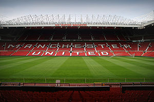 Old Trafford, hjemmebane for Manchester United