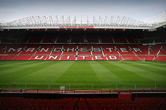Old Trafford - Image: Old Trafford inside 20060726 1