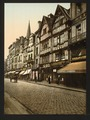 Old houses in rue St. Pierre, Caen, France-LCCN2001697608.tif