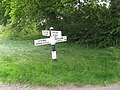 Old road sign - geograph.org.uk - 820855.jpg