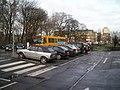 Old tram tracks in Nørre Voldgade 01.JPG