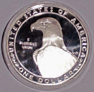 Los Angeles XXIII Olympiad dollar - Image: Olympiad 2