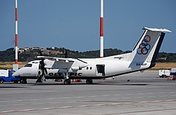 Olympic Airlines DHC-8-100 Dash 8; SX-BIP@ATH;14.06.2009 540ak (4328564427).jpg
