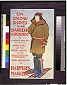 On snow shoes to the barren grounds by Caspar W. Whitney ... now appearing in Harper's magazine - Edward Penfield. LCCN96508815.jpg