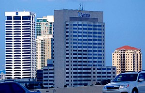 Aetna Building - Image: One Prudential Plaza Jacksonville 2009 07 a