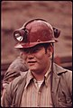 One of a Series of Portraits of Miners Waiting to Go to Work on the 4 P.M. to Midnight Shift at the Virginia-Pocahontas Coal Company Mine -4 near Richlands, Virginia 04-1974 (3907179286).jpg