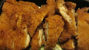 Chicken katsu from Ono Hawaiian BBQ.