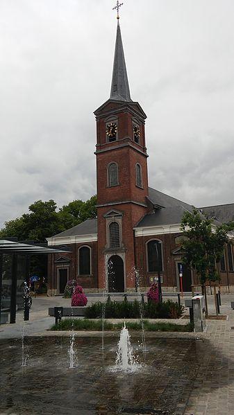 Onze-Lieve-Vrouwkerk, Niel, vanaf Dorpstraat