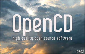 OpenCD splash screen