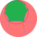 Order-4 hexagonal tiling honeycomb one cell horocycle.png