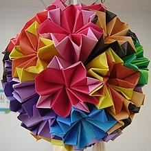 Origami kusudama paso a paso book